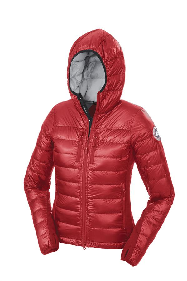 Zomerjas Rood Dames.Canada Goose Trillium Parka Fusion Fit Parka Rood Jas Dames